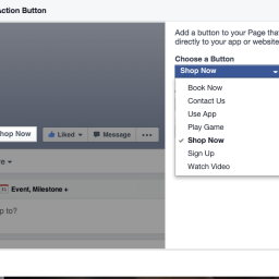 New(ish) to Facebook: Call to Action Button